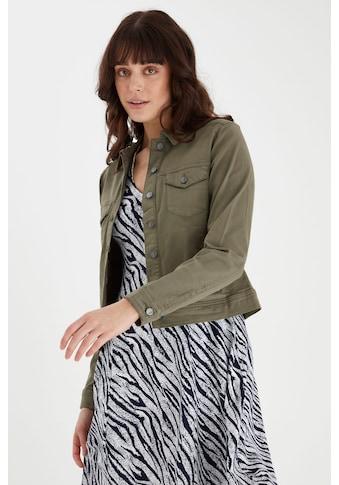fransa Jeansjacke »Fransa Damen Jeansjacke«, Klassische Jeansjacke kaufen