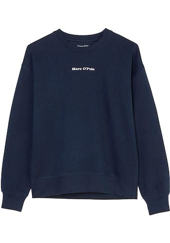 Marc O'Polo Junior Sweatshirt, mit kleinem Logo kaufen