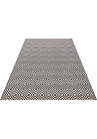 bougari Teppich »Karo«, rechteckig, 8 mm Höhe, Sisal-Optik, In- und Outdoorgeeignet,... kaufen