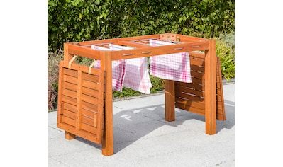 MERXX Gartentisch , Eukalyptus, 100x60 cm, braun kaufen
