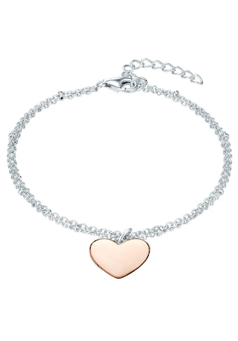Rafaela Donata Silberarmband »ST135«, (1 tlg.), mit Herz kaufen