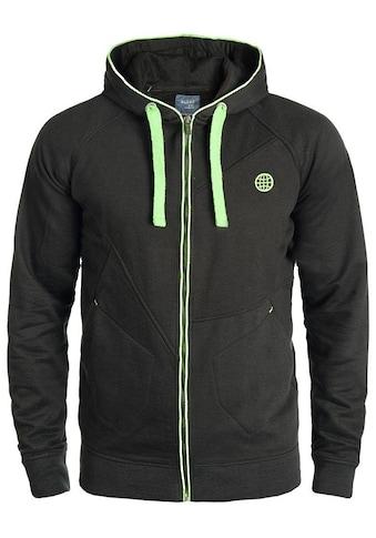 Blend Kapuzensweatjacke »Croop«, Sweatshirtjacke mit kontrastfarbenen Details kaufen