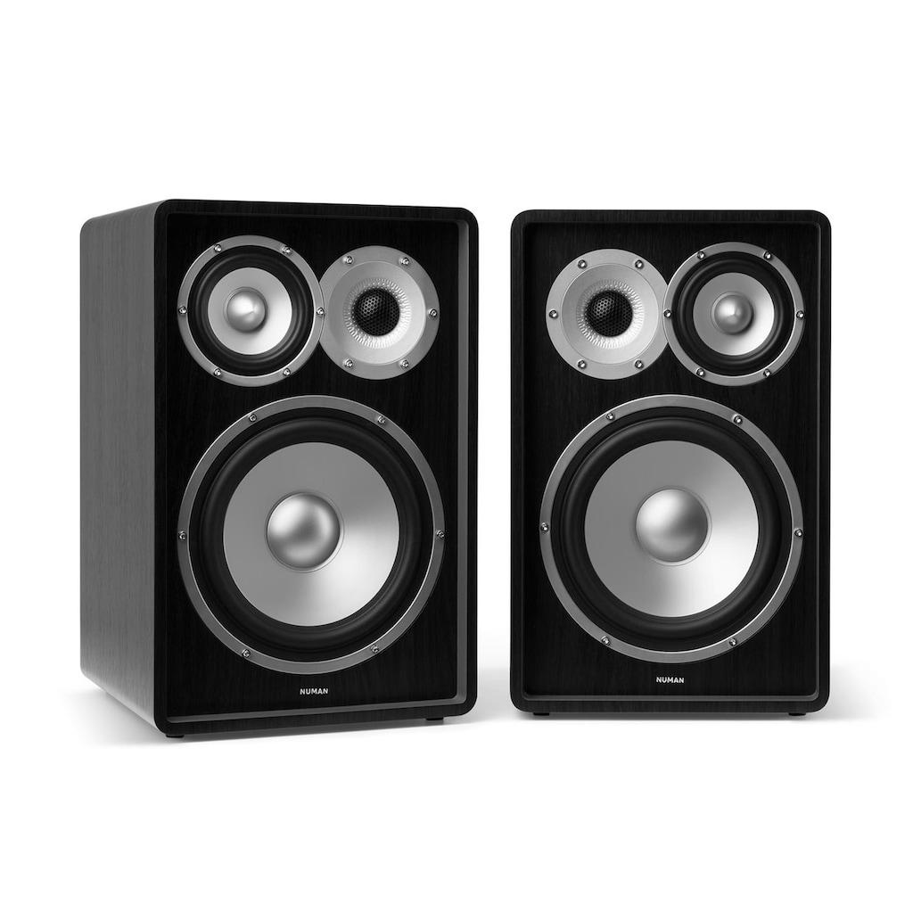 NUMAN Drei Wege Regallautsprecher HiFi Lautsprecher Boxen Heimkino »78 MKII«