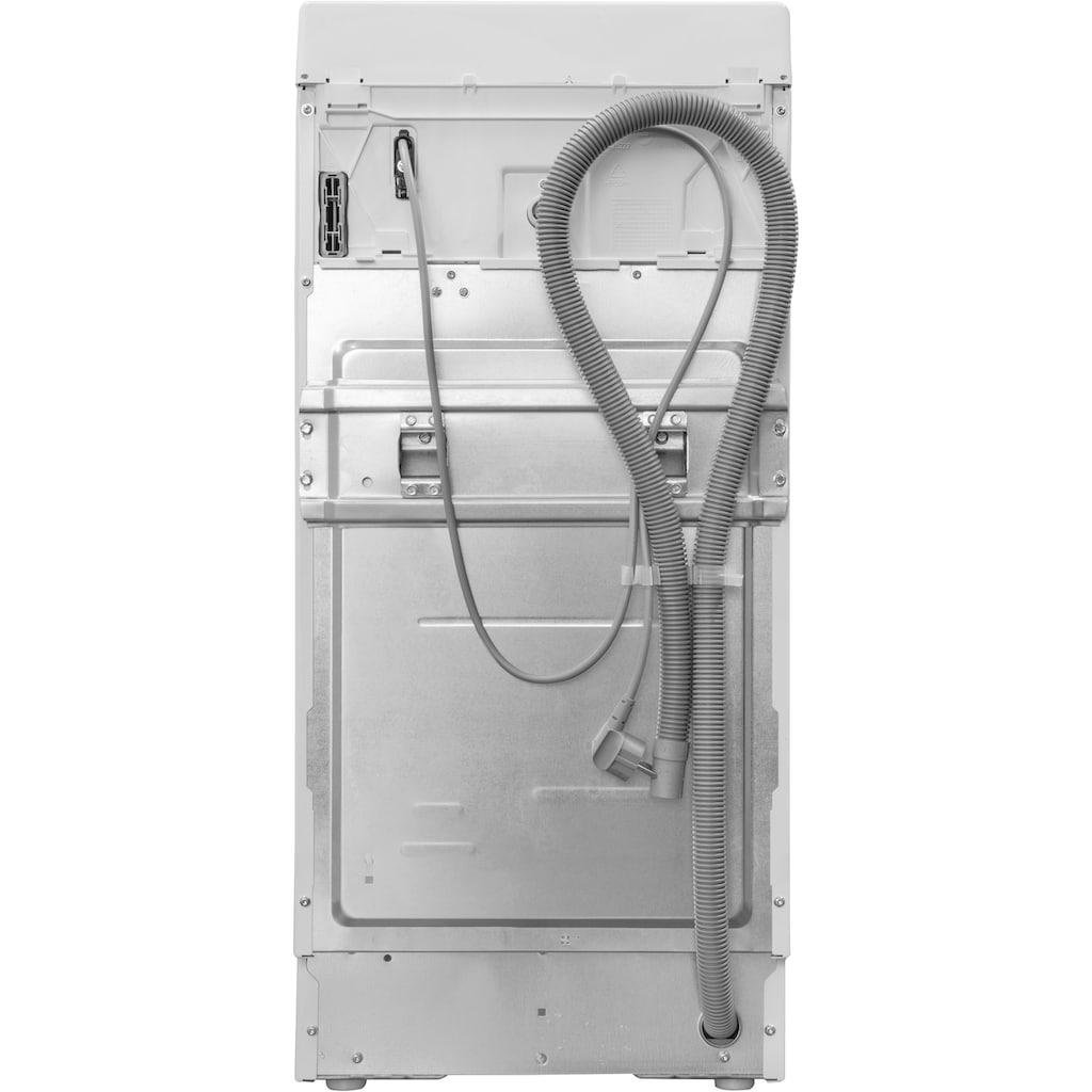 BAUKNECHT Waschmaschine Toplader »WMT ECOSTAR 6Z BW N«, WMT EcoStar 6Z BW N, 6 kg, 1200 U/min