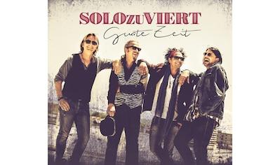 Musik - CD Guate Zeit / SOLOzuVIERT, (1 CD) kaufen