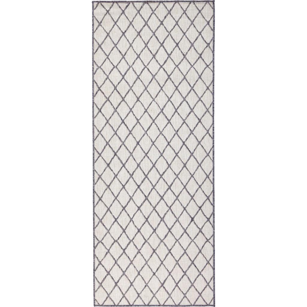 bougari Läufer »Malaga«, rechteckig, 5 mm Höhe, In- und Outdoor geeignet, Wendeteppich