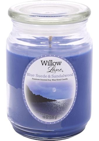 "Candle - lite™ Duftkerze ""Willow Lane  -  Blue Suede & Sandalwood"", (1 - tlg.) kaufen"