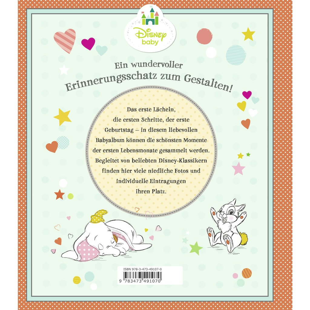 Buch »Disney Baby: Hallo, kleiner Sonnenschein - Dein Babyalbum / The Walt Disney Company«