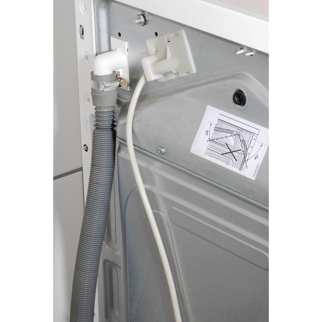 Xavax Ablaufschlauch für Waschmaschinen, Geschirrspüler, 1,2-4 m