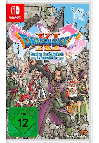Nintendo Switch Spiel »DRAGON QUEST XI S: Streiter des Schicksals – Definitive... kaufen