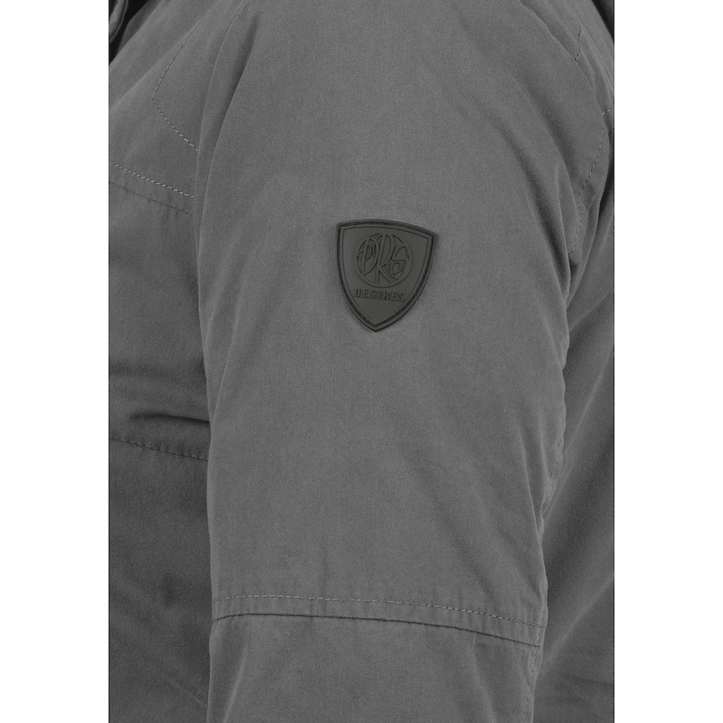 DESIRES Parka »Lotta«, warme Jacke mit hochabschließendem Kragen