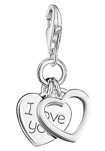 THOMAS SABO Charm Herz »Herzen I LOVE YOU, 0852-001-12« kaufen