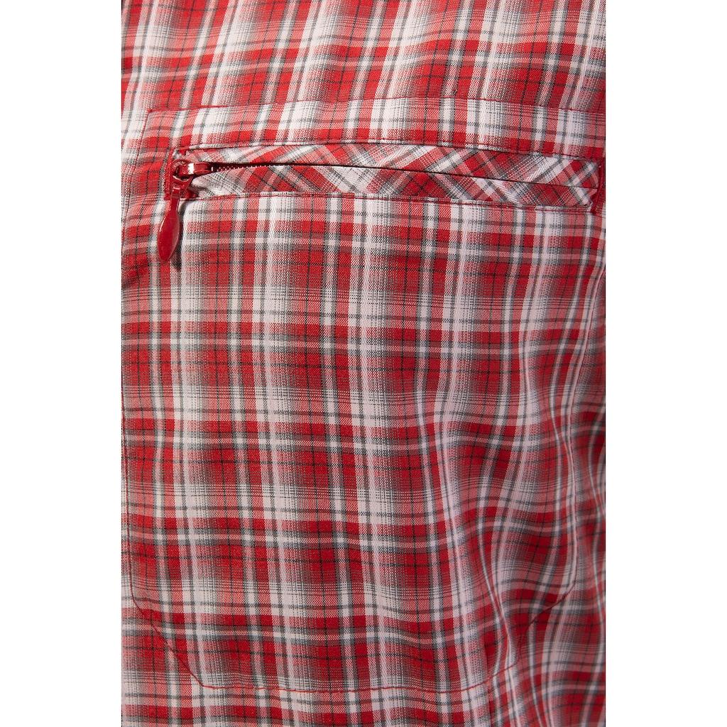 Tom Collins Trachtenbluse, Damen, mit Reißverschlusstaschen