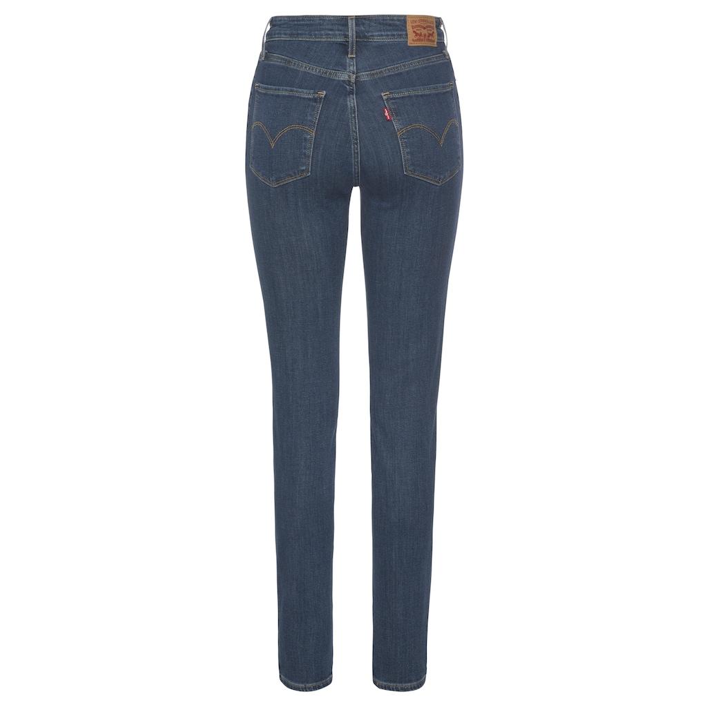 Levi's® Skinny-fit-Jeans »721 High Rise«, High Waist mit Destroyed-Effekten