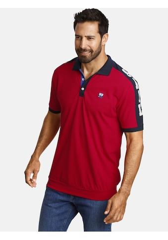Jan Vanderstorm Poloshirt »ORLOV«, Komfortschnitt mit Bündchen kaufen
