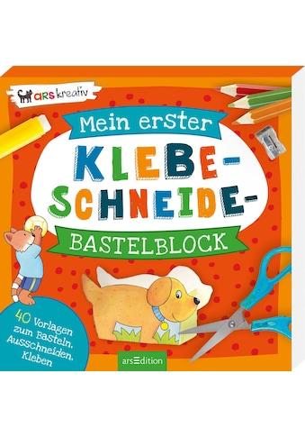 Buch »Mein erster Klebe-Schneide-Bastelblock / Corina Beurenmeister« kaufen