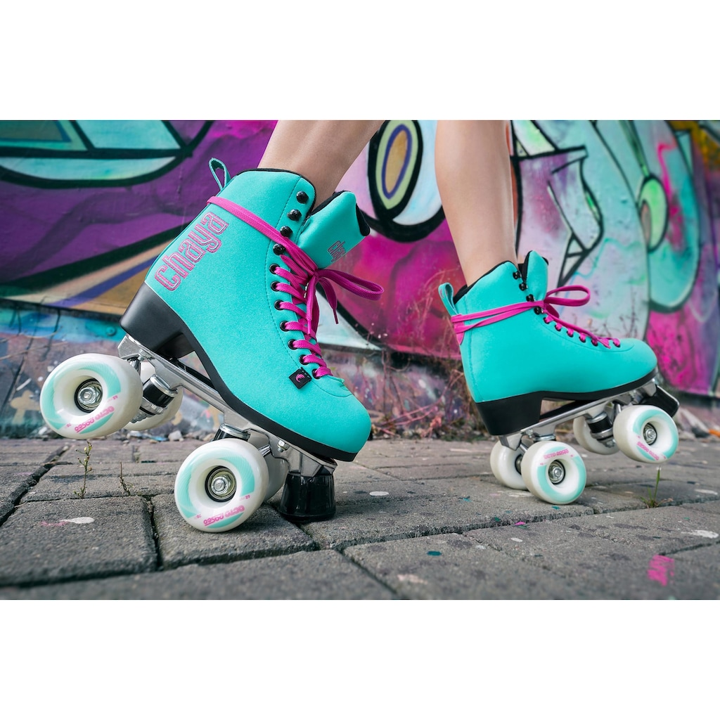 Chaya Rollschuhe »Melrose Deluxe Turquoise«