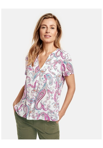 GERRY WEBER Bluse 1/2 Arm »1/2 Arm Bluse mit floralem Print« kaufen