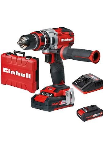 Einhell Akku-Schlagbohrschrauber »TE-CD 18 Li-i BL«, Power X-Change, inkl. 2x 2,0 Ah und Ladegerät kaufen