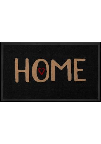 Fußmatte, »Lovely Home«, HANSE Home, rechteckig, Höhe 5 mm, maschinell getuftet kaufen