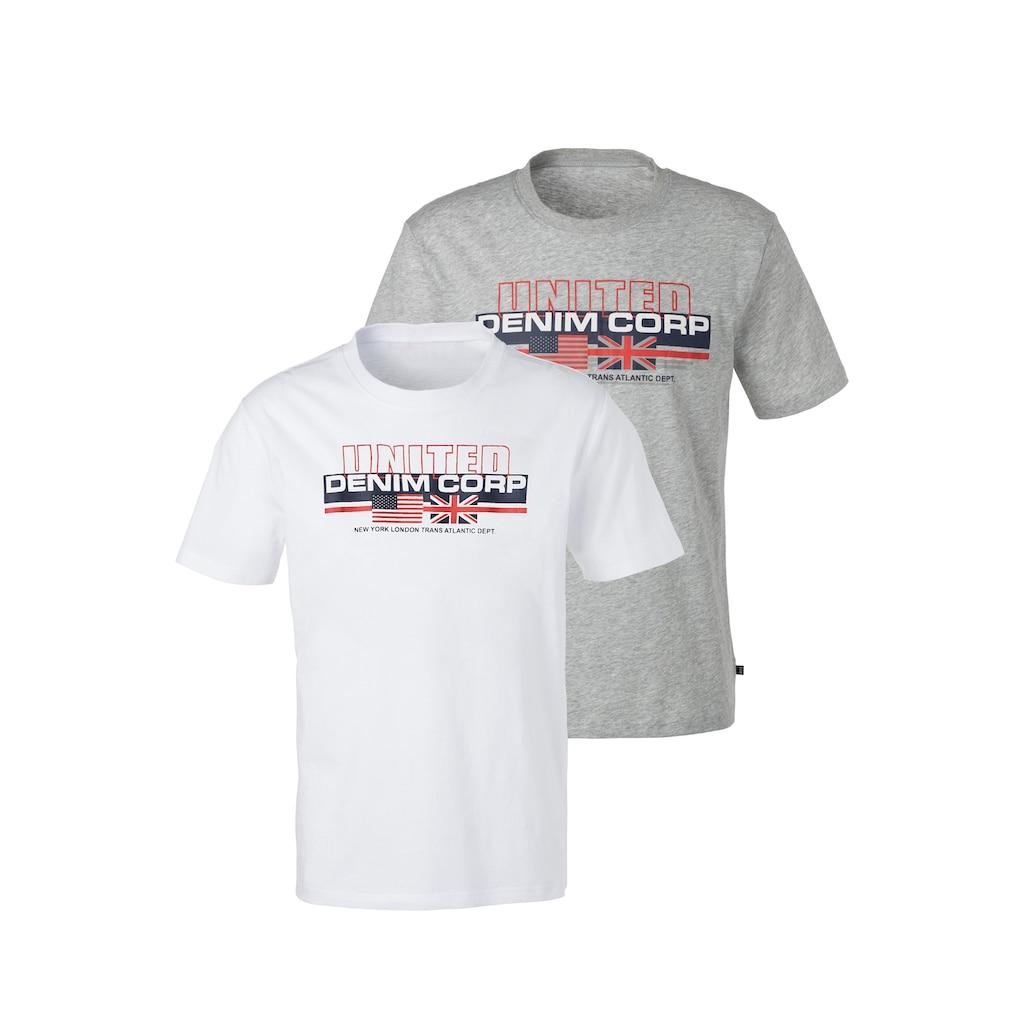 H.I.S T-Shirt »Homewear«, mit Frontprint