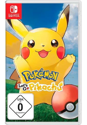 Nintendo Switch Spiel »Pokémon: Let's Go, Pikachu!«, Nintendo Switch kaufen