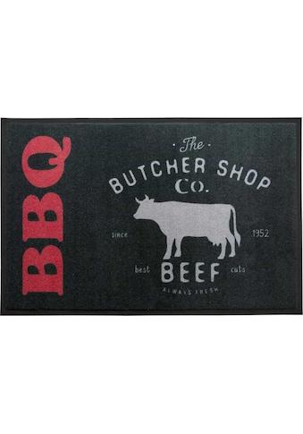 Primaflor-Ideen in Textil Fußmatte »BBQ Butcher«, rechteckig, 5 mm Höhe,... kaufen