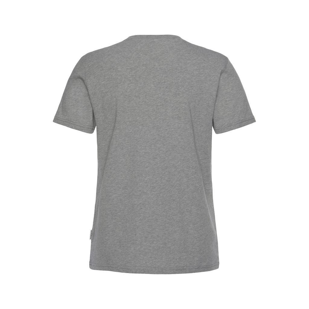 Napapijri T-Shirt »SALIS«, mit kleiner Flaggenstickerei