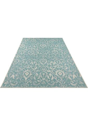 bougari Teppich »Hatta«, rechteckig, 4 mm Höhe, Flachgewebe, In- und Outdoor geeignet,... kaufen