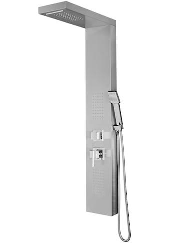 WELLTIME Duschsäule »Waterfall«, Regendusche mit Wasserfallfunktion, 125 x 20 cm kaufen