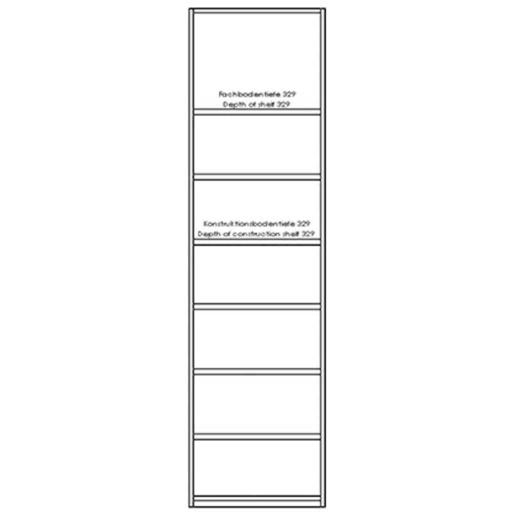 Müller SMALL LIVING Seitenregal »Modular Plus«, (1 St.), individuell kombinierbar mit allen Varianten Müller SMALL LIVING »Modular Plus Variante«