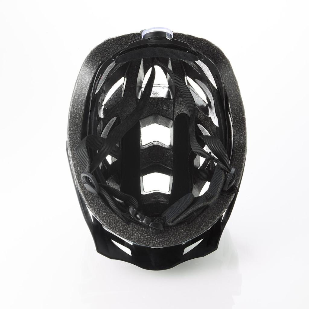 FISCHER Fahrräder Fahrradhelm »Fahrradhelm Urban Lano L/XL«, Verstellbarer Innenring-System; mit beleuchtetem Innenring-System
