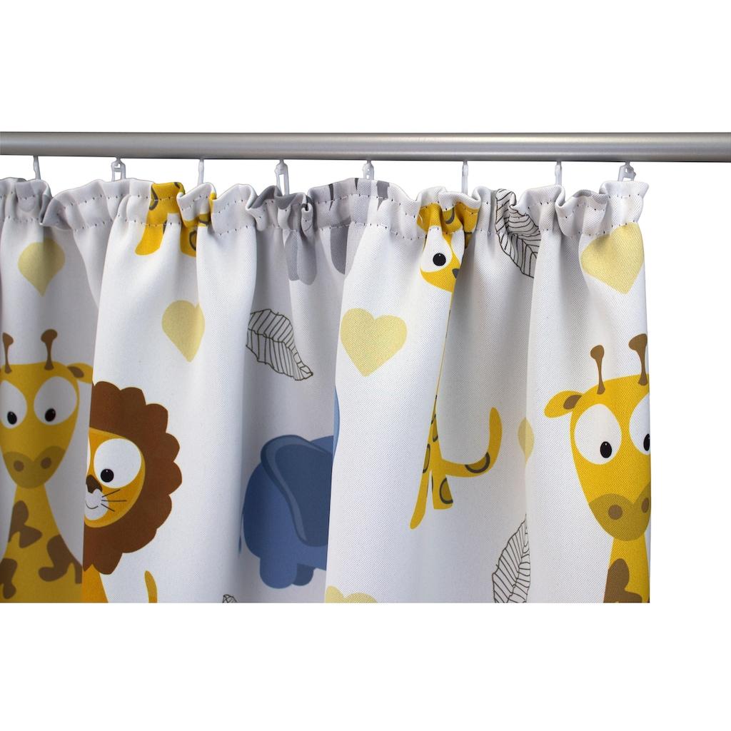 Vorhang, »Zoo«, VHG, Kräuselband 1 Stück