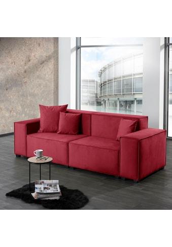 Max Winzer® Wohnlandschaft »MOVE«, Sofa-Set 01 aus 6 Sitz-Elementen, inklusive 3... kaufen