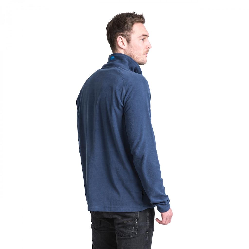 Trespass Fleeceshirt »Herren Microfleece-Oberteil Blackford mit Reißverschluss bis zur Brust«