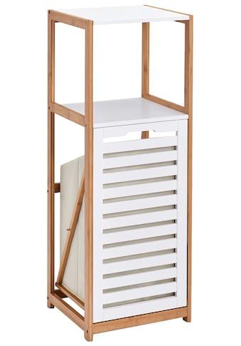 Zeller Present Badregal, mit integriertem Wäschesammler, B/T/H: 36 x 33 x 98cm kaufen