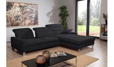 ADA trendline Ecksofa »Robin«, inkl. Sitztiefenverstellung, wahlweise mit Bettfunktion... kaufen