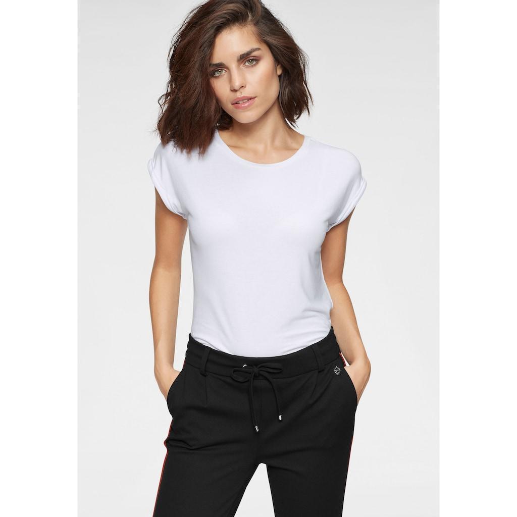 Tamaris T-Shirt, mit lockerer Passform
