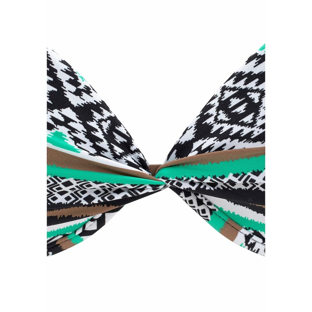 LASCANA Push-Up-Bikini-Top »Wintu«, im trendigen Design