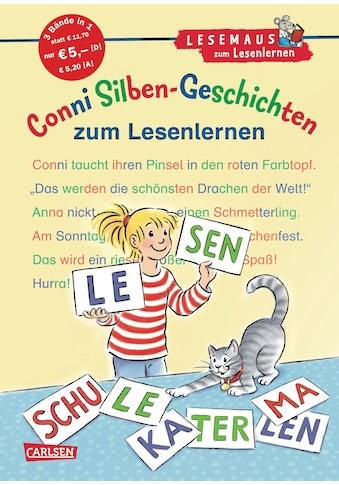 Buch »LESEMAUS zum Lesenlernen Sammelbände: Conni Silben-Geschichten zum Lesenlernen /... kaufen