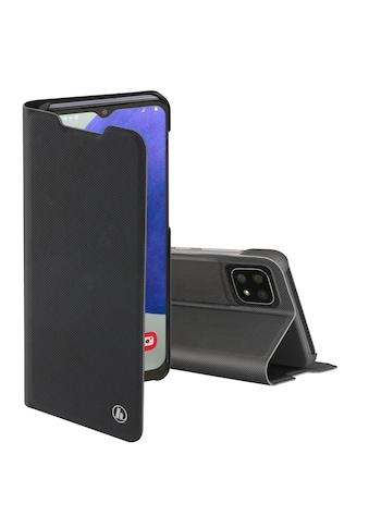 Hama Smartphone-Hülle »Smartphone Booklet, Hülle«, für Samsung Galaxy A22 5G Schwarz kaufen