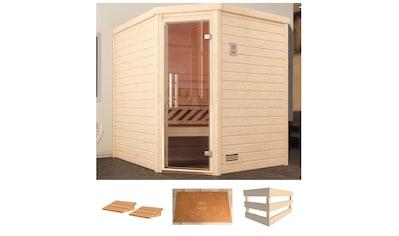 weka Sauna »Turku Eck 1«, ohne Ofen kaufen