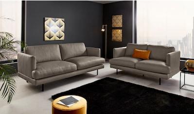 Places of Style 2,5-Sitzer »Jayden«, auch in Echtleder, mit Wellenunterfederung kaufen