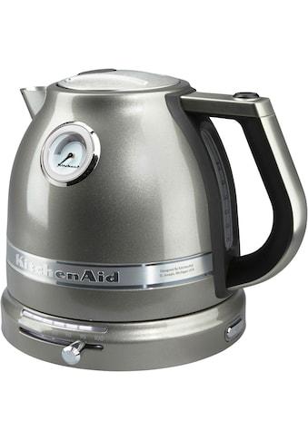 KitchenAid Wasserkocher, 5KEK1522EMS, 1,5 Liter, 2400 Watt kaufen