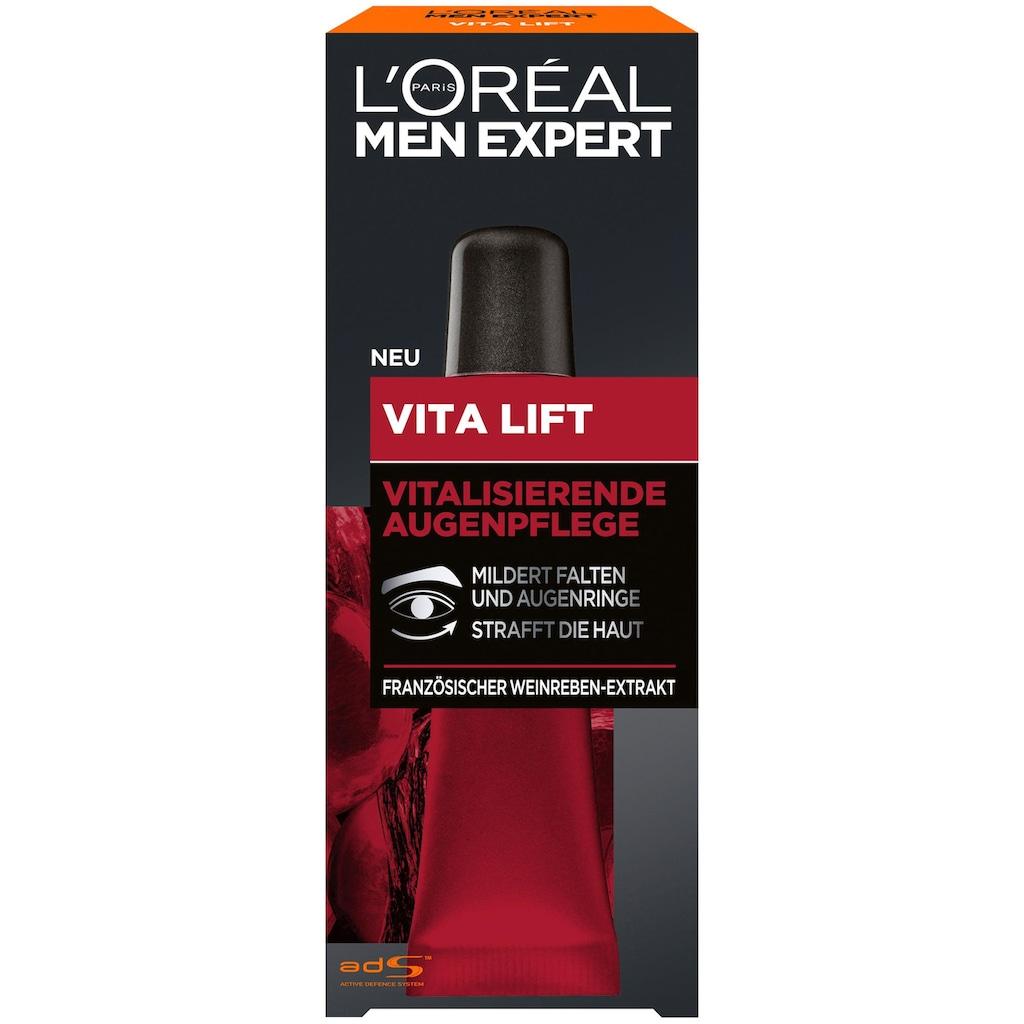 L'ORÉAL PARIS MEN EXPERT Augencreme »Vita Lift«, mit hochdosierter Anti-Falten Wirkung