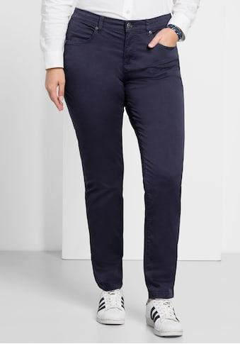 Sheego Stretch-Hose, in schmaler Form kaufen
