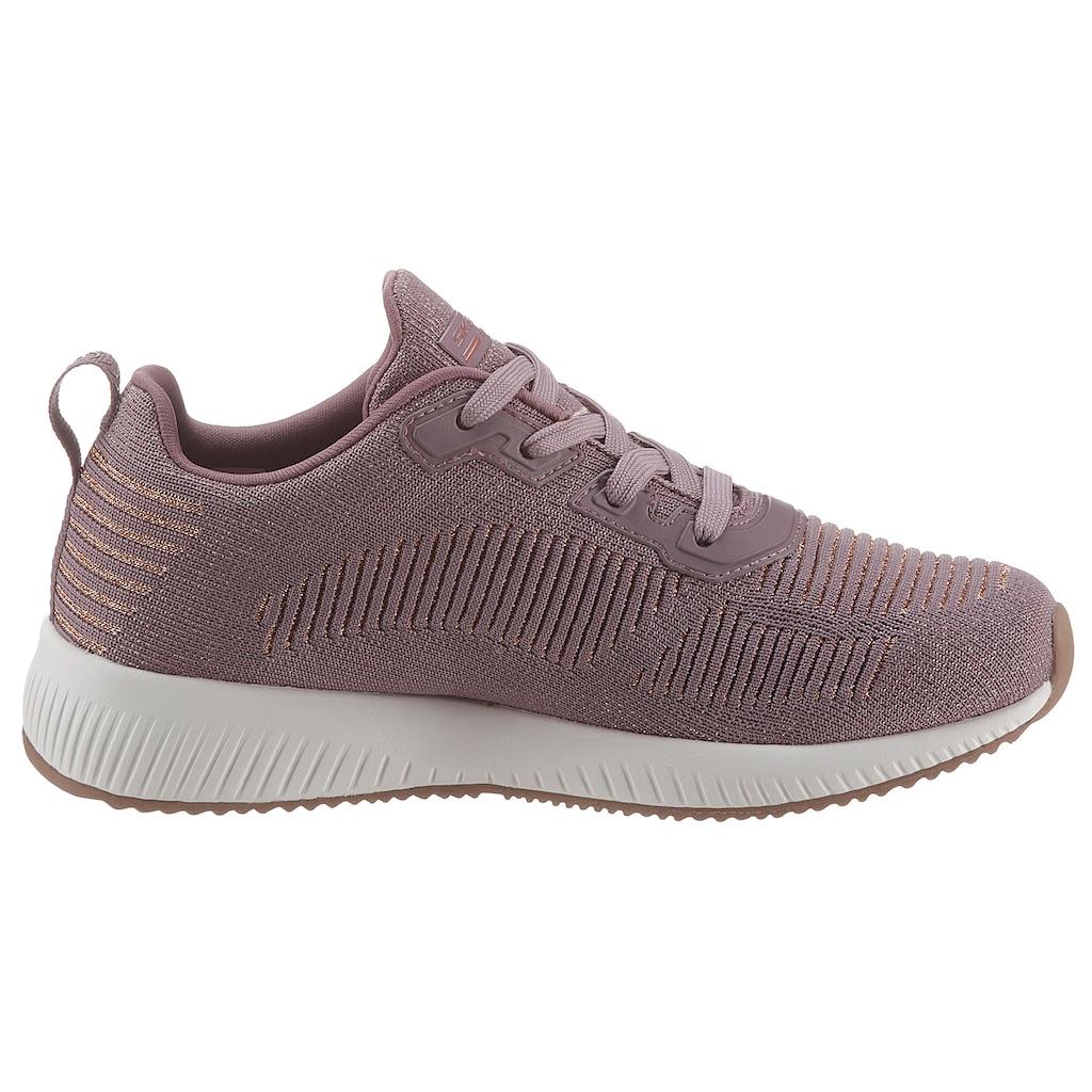 Skechers Sneaker »BOBS SQUAD - GLAM LEAGUE«, mit feinem Metallic-Schimmer
