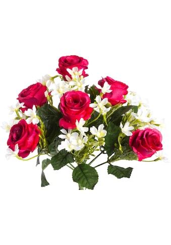 Botanic-Haus Kunstblume »Rosenstrauß« kaufen