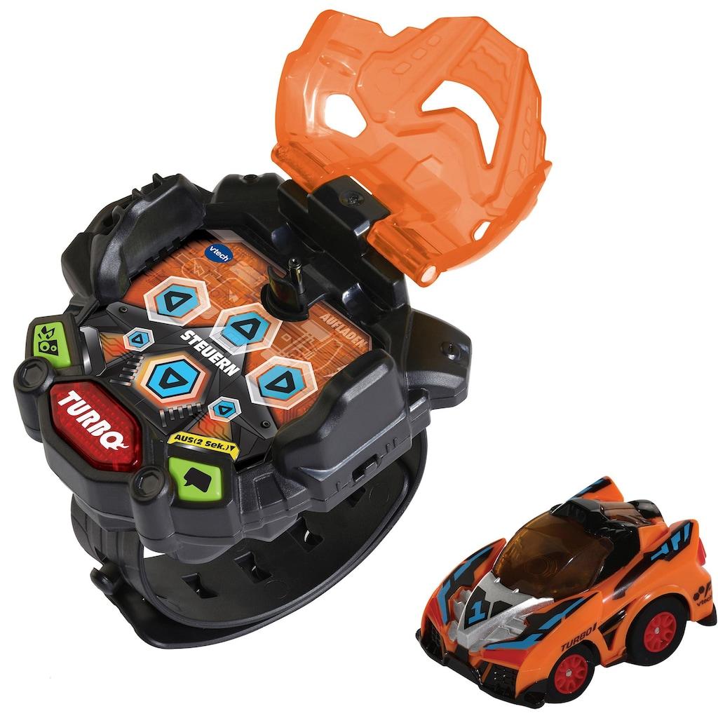 Vtech® Autorennbahn »Turbo Force Racers - Actiontrack«, mit Licht- und Soundeffekten