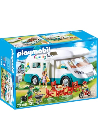 Playmobil® Konstruktions-Spielset »Familien-Wohnmobil, Family Fun«, Made in Europe kaufen
